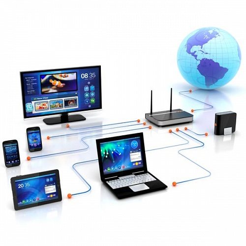 Mobile LAN and control systems